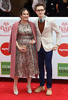 Giovanna and Tom Fletcher at the Princes Trust &amp; TKMaxx &amp; Homesense Awards 2018, London Palladium, London UK on March 6th 2018<br /> CAP/ROS<br /> &copy;ROS/Capital Pictures