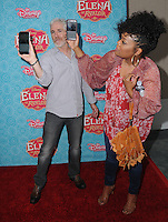 "16 July 2016 - Beverly Hills, California. Carlos Alazaraqui, Yvette Nicole Brown. Arrivals for the Los Angeles VIP screening for Disney's ""Elena of Avalor"" held at Paley Center for Media. Photo Credit: Birdie Thompson/AdMedia"