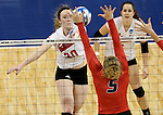Wheeling Jesuit vs Lewis Women's DII Volleyball Championship