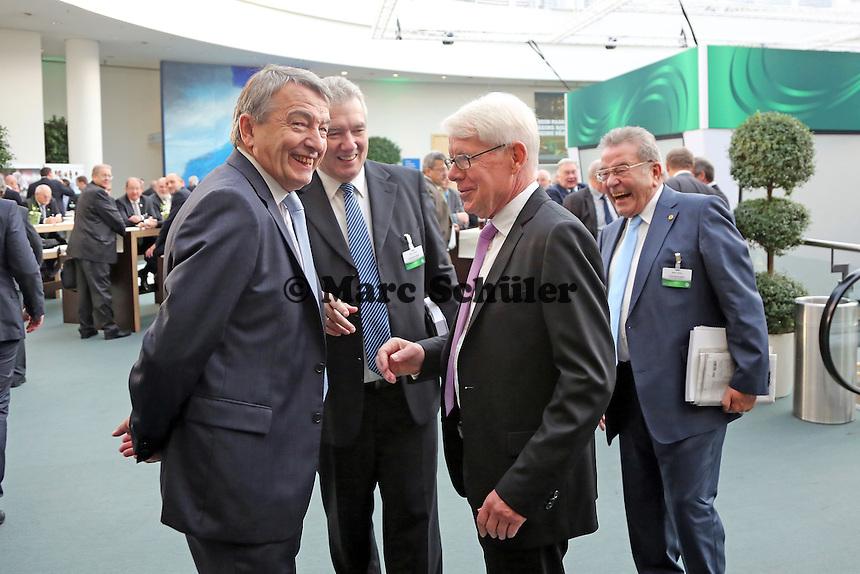 DFB Generalsekretär Wolfgang Niersbach mit DFL Vorsitzenden Reinhard Rauball - 41. ordentlicher DFB-Bundestag, NCC Nürnberg