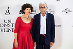 """Jose Sacristan with his wife Amparo Pascual during the premiere of the spanish film """"Un Monstruo Viene a Verme"""" of J.A. Bayona at Teatro Real in Madrid. September 26, 2016. (ALTERPHOTOS/Borja B.Hojas)"""