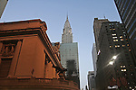 Grand Central Station and The Chrysler Building