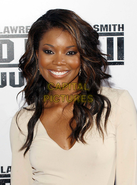 GABRIELLE UNION.Bad Boys II premiere, Mann Village Theatre, Los Angeles.www.capitalpictures.com.sales@capitalpictures.com.© Capital Pictures.headshot, portrait, smiling