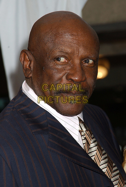 "LOUIS GOSSETT JR..At the'The Matador' premiere held at Roy Thomson Hall,.At The Toronto Film Festival,.Toronto, 15th September.portrait headshot mustache pinstripe navy suit.Ref"" ADM/LF.www.capitalpictures.com.sales@capitalpictures.com.© Capital Pictures."
