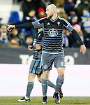 Celta de Vigo's John Guidetti during La Liga match. January 28,2017. (ALTERPHOTOS/Acero)