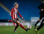 Sophie Barker of Sheffield Utd during the The FA Women's Championship match at the Proact Stadium, Chesterfield. Picture date: 8th December 2019. Picture credit should read: Simon Bellis/Sportimage