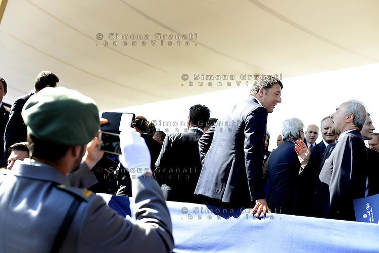 Roma, 2 Giugno 2015<br /> Matteo Renzi<br /> Festa della Repubblica, 69&deg; anniversario.<br /> In attesa della parata militare