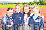 Competing at the Kerry Primary School Sports County Finals in An Riocht Castleisland was l-r: Zoe O'Dwyer-Kelly, Holly Hickey, Annie Potts and Kathlyn Moynihan St Olivers NS Killarney