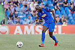 Allan-Romeo Nyom of Getafe CF during UEFA Europa League match between Getafe CF and Trabzonspor at Coliseum Alfonso Perez in Getafe, Spain. September 19, 2019. (ALTERPHOTOS/A. Perez Meca)