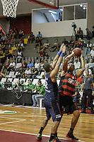 RIO DE JANEIRO, RJ, 16.03.2016: FLAMENGO-BRASÍLIA - Partida de basquete entre Flamengo e Brasília, válida pela 27a rodada do NBB, no Tijuca Tênis Clube, no Rio de Janeiro.(Foto: Andre Fabiano / Brazil Photo Press)