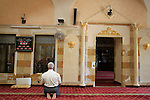 Israel, Lower Galilee, the Mosque at Deir Hanna
