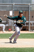 Raul Padron - Oakland Athletics - 2009 spring training.Photo by:  Bill Mitchell/Four Seam Images