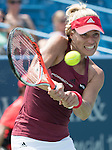 Angelique Kerber (GER) defeated Carla Suarez Navarro (ESP) 4-6, 6-3, 6-0