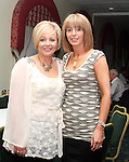 Laura Doherty and Bernadette Kavanagh at the Charity Event in the Boyne Valley Hotel to raise money for Drogheda Womens Refuge, Drogheda Special Needs and ABACAS...(Photo credit should read Jenny Matthews/www.newsfile.ie)....This Picture has been sent you under the conditions enclosed by:.Newsfile Ltd..The Studio,.Millmount Abbey,.Drogheda,.Co Meath..Ireland..Tel: +353(0)41-9871240.Fax: +353(0)41-9871260.GSM: +353(0)86-2500958.email: pictures@newsfile.ie.www.newsfile.ie.