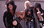 Motley Crue Backstage at Castle Donnington , England Aug 1984 Donnington Monsters of Rock 1984 Donnington 1984 Tommy Lee