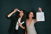 Jennifer Humphrey & Christina Masterson at DNA Renewal Skincare Endless Summer Beauty Brunch at Ace Hotel DTLA on Sept. 22, 2015 (Photo by Tiffany Chien/Guest Of A Guest)