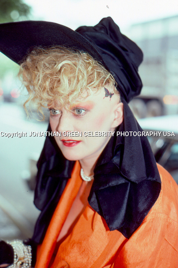 Alannah Currie Singer Thompson Twins<br />