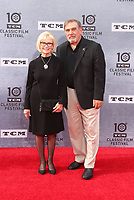 """Los Angeles CA Apr 11: Patty McCormack, Dan Lauria, arrive to 2019 TCM Classic Film Festival Opening Night Gala And 30th Anniversary Screening Of """"When Harry Met Sally"""", TCL Chinese Theatre, Los Angeles, USA on April 11, 2019 <br /> CAP/MPI/FS<br /> ©FS/MPI/Capital Pictures"""