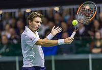 Rotterdam, Netherlands, 11 februari, 2018, Ahoy, Tennis, ABNAMROWTT, Qualifying final, Nicolas MAHUT (FRA)<br /> Photo: Henk Koster/tennisimages.com