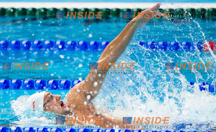 STASIULIS Benjamin FRA<br /> Swimming - Men's  200m backstroke heats<br /> Day 14 06/08/2015<br /> XVI FINA World Championships Aquatics Swimming<br /> Kazan Tatarstan RUS July 24 - Aug. 9 2015 <br /> Photo Giorgio Perottino/Deepbluemedia/Insidefoto