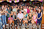 Geraldine Ryan Castleisland seated centre celebrates her 21st birthday with her family and friends in Con's bar Castleisland on Friday night