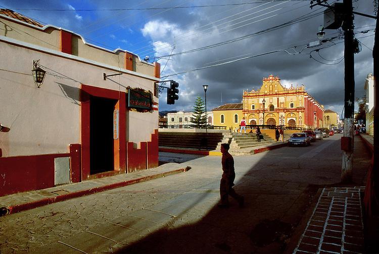 Paesaggi del mondo. San Sebastian in Chiapas.
