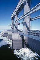 Hydro-electric power, Newfoundland, Canada