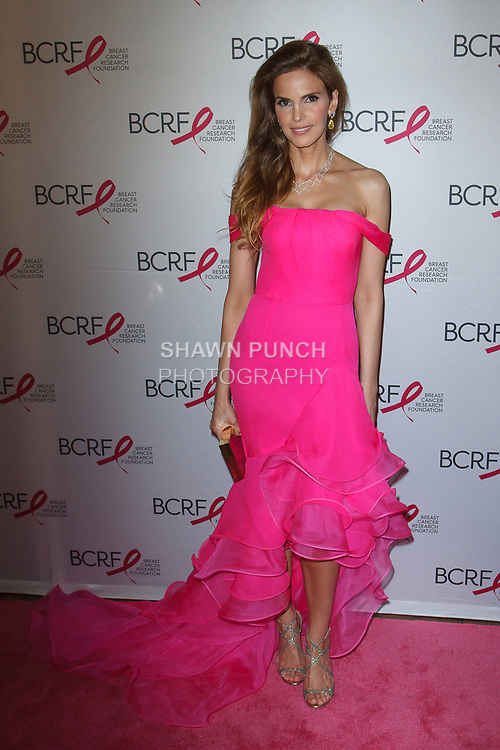 "Amy France attends The Breast Cancer Research Foundation ""Super Nova"" Hot Pink Party on May 12, 2017 at the Park Avenue Armory in New York City."