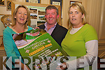 Pictured at the launch of the Legion fundraising draw in the International Hotel on Thursday night were Geraldine Keane, Pat Moynihan and Gillian Lyne.........