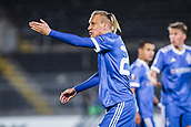 28th September 2017, Partizan Stadium, Belgrade, Serbia; UEFA Europa League group stage, Partizan versus Dynamo Kiev; Defender Domagoj Vida of Dynamo Kiev reacts during the match