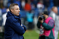 Neil Harris Manager of Cardiff City stands on the touch line during the Sky Bet Championship match between Cardiff City and Preston North End at the Cardiff City Stadium, Wales, UK. Saturday 21 December 2019