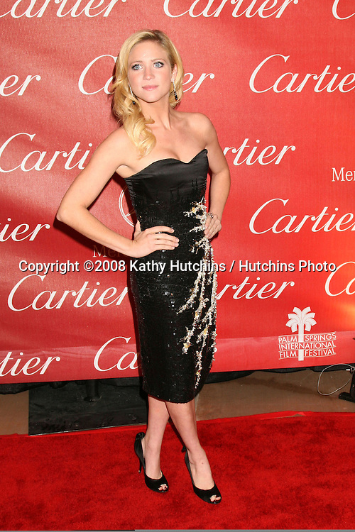 Brittany Snow.2008 Palm Springs International Film Festival .Palm Springs Convention Center.January 5, 2008.Palm Springs, CA.©2008 Kathy Hutchins / Hutchins Photo...