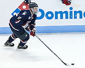Miles Gendron (UConn - 10) - The Boston University Terriers defeated the visiting University of Connecticut Huskies 4-2 (EN) on Saturday, October 24, 2015, at Agganis Arena in Boston, Massachusetts.
