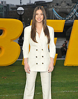 Hailee Steinfeld at the &quot;Bumblebee&quot; film cast photocall, Potters Fields Park, Tower Bridge Road, London, England, UK, on Wednesday 05 December 2018.<br /> CAP/CAN<br /> &copy;CAN/Capital Pictures
