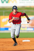 Gordon Beckham runs the bases at Smokies Park May 21, 2009  in Sevierville, TN (Photo by Tony Farlow/ Four Seam Images)