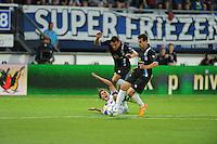 VOETBAL: HEERENVEEN: Abe Lenstra Stadion 29-08-2015, SC Heerenveen - PEC Zwolle, uitslag 1-1, Simon Thern (# 10), ©foto Martin de Jong