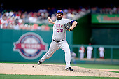 New York Mets relief pitcher Bobby Parnell (39) works in the eighth inning against the Washington Nationals at Nationals Park in Washington, D.C. on Wednesday, July 22, 2015.  The Nationals won the game 4 - 3.<br /> Credit: Ron Sachs / CNP<br /> (RESTRICTION: NO New York or New Jersey Newspapers or newspapers within a 75 mile radius of New York City)