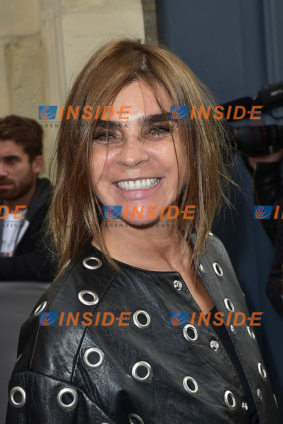 Carine Roitfeld  <br /> Dior fashion show arrivals - Paris - 30/09/2016