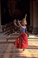 Images from the Book Journey Through Colour and Time,Apsara Dancer,Grand Performing Hall, Grand Palace