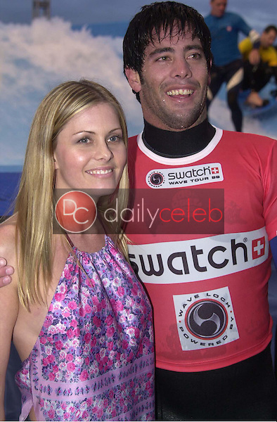 Nicole Eggert and Christian Fletcher