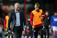 Brentford Manager, Dean Smith, walks towards the dressing room at the end of the match during Brentford vs Birmingham City, Sky Bet EFL Championship Football at Griffin Park on 2nd October 2018