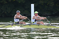 Race: 131  MasE.2x  Semi-Final<br /> 111  Detroit BC, USA<br /> 114  Berliner RC/RC Wannersee Composite<br /> <br /> Henley Masters Regatta 2018 - Friday<br /> <br /> To purchase this photo, or to see pricing information for Prints and Downloads, click the blue 'Add to Cart' button at the top-right of the page.