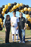 Palos Verdes, CA 02/09/12 - Kyle Perebowow (Peninsula #25) during the open ceremony on parents' day.