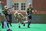 Jule Grashoff (24) of the Wake Forest Demon Deacons takes a shot on goal during second half action against the Michigan Wolverines at Kentner Stadium on August 28, 2016 in Winston-Salem, North Carolina.  The Demon Deacons defeated the Wolverines 2-0.  (Brian Westerholt/Sports On Film)