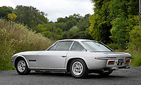 BNPS.co.uk (01202 558833)<br /> Pic: Historics/BNPS<br /> <br /> Live and Let Buy...<br /> <br /> An incredibly rare Lamborghini driven by Sir Roger Moore in his favourite film role has sold for almost £300,000.<br /> <br /> The silver Islero S racer was built in 1969 as one of just five right-hand drive examples produced by the Italian marque. <br /> <br /> Shortly after leaving the factory it starred in the psychological thriller The Man Who Haunted Himself which featured Moore as Harold Pelham.<br /> <br /> Although the film achieved very little success at the box office, Moore later described it as his favourite role as he 'actually got to act'.<br /> <br /> It went under the hammer with auctioneers Historics of Iver, Bucks.