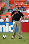 11 August 2004: Colorado General Manager Dan Counce. DC United defeated the Colorado Rapids 3-1 at RFK Stadium in Washington, DC during a regular season Major League Soccer game..