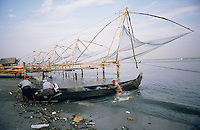 The Chinese Fishing Nets at Cochin.