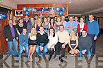 21st Birthday: Con McMahon, seated third from left, celebrating his 21st birthday with family & friends at The Exchange Bar in Ballybunion on Saturday night last.