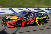 Martin Truex Jr., Furniture Row Racing, Toyota Camry Bass Pro Shops/5-hour ENERGY celebrates his win