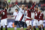 Rodrigo Palacio of Bologna appeals for a corner during the Serie A match at Stadio Grande Torino, Turin. Picture date: 12th January 2020. Picture credit should read: Jonathan Moscrop/Sportimage